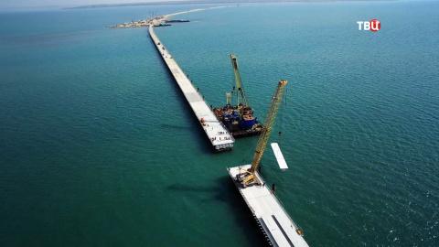 Крымский Мост. Поездка по ст…