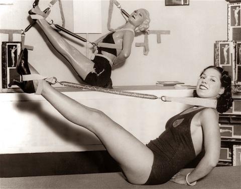 Фитнес 40-х годов