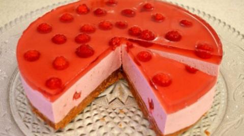 Самый вкусный творожно-йогуртовый торт