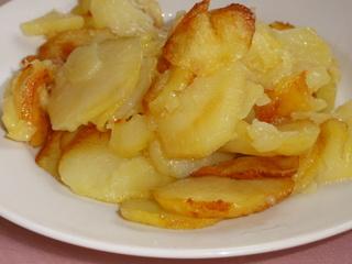 Как я жарю картошку кружочками