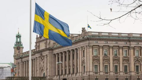 В отделении полиции Швеции взорвалась бомба