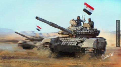 Сирийская армия под носом у ЦАХАЛ отбила у боевиков ключевую высоту у Голанских высот