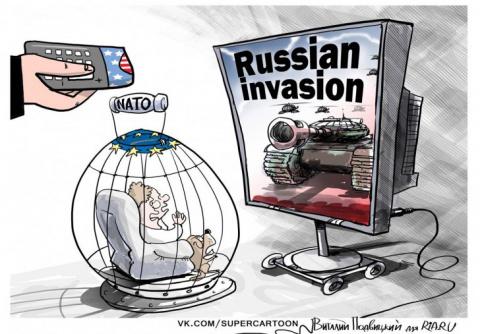 Угроза на западном направлении: коротко на тему развертывание контингента НАТО в Европе