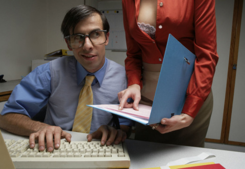 На какой работе женщины чаще…