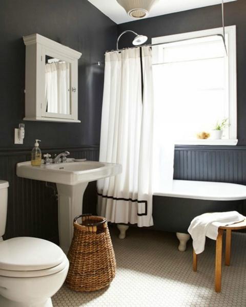 15 интерьеров с ваннами на ножках