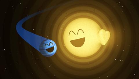 Астрономы нашли планету, зас…