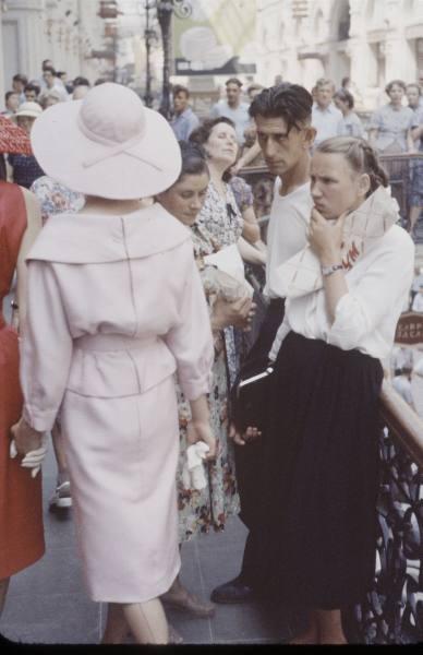 Christian Dior в Москве, 1959