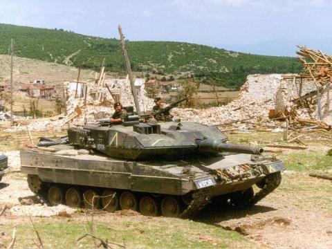 Танки Leopard 2. Бои и потери