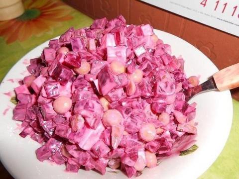Улетный салат «Виолетта». Вкусно и полезно!