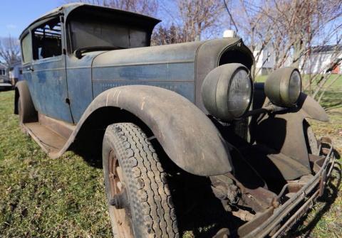 В США нашли 90-летний автомо…