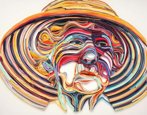 Бумажный мир художницы Юлии Бродской