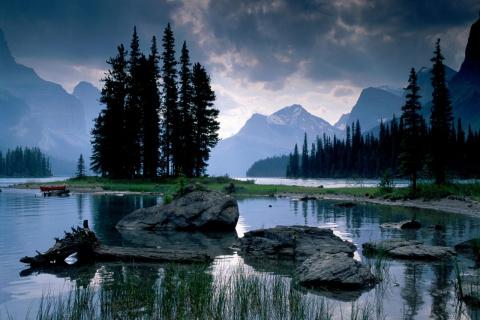 Национальный парк Джаспер в Канаде