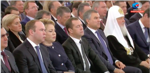 Владимир Путин, вас слушал весь мир