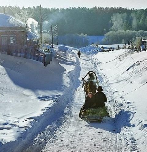 Эхма, зимушка-зима!