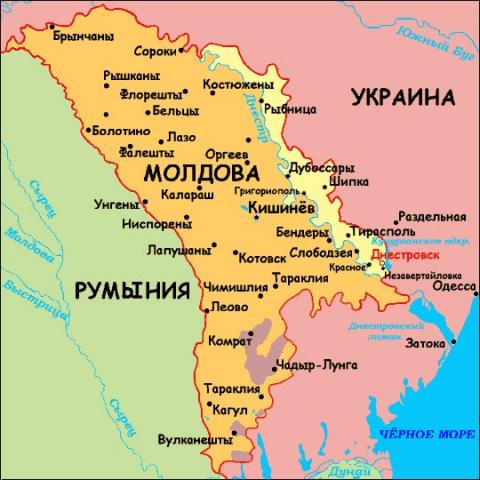Молдавия потребует от России…