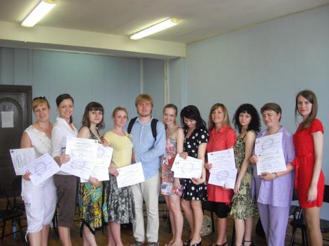 Выпуск 4 группы базового курса по позитивной психотерапии в Полтаве (2010 г.)