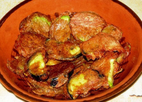 Пакор - овощи в кляре