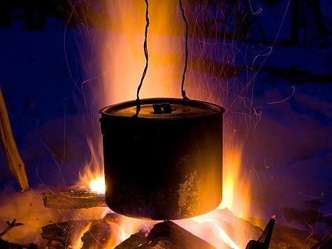 Как быстро разжечь костер