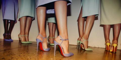 Как носить обувь на высоких …