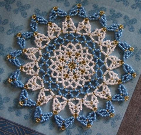 Схемы для плетения салфеток из
