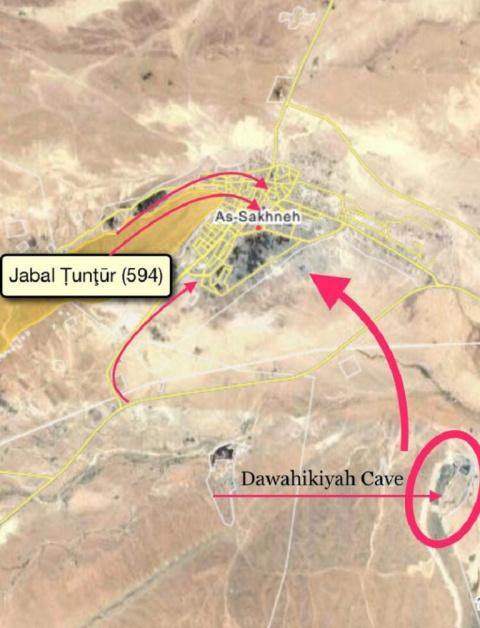 Сирийские войска вошли в Сухну