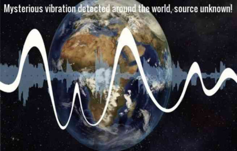 Мощные вибрации земной коры …
