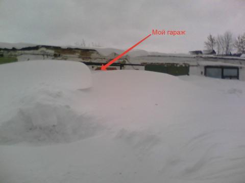 Решил в гараж сходить)))