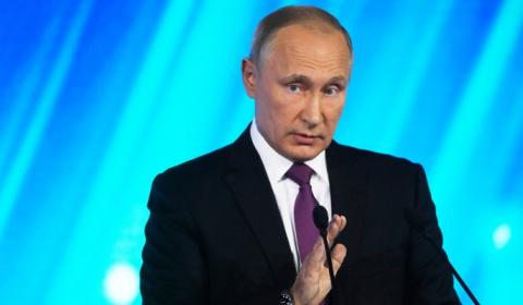 Путин ответил анекдотом на в…