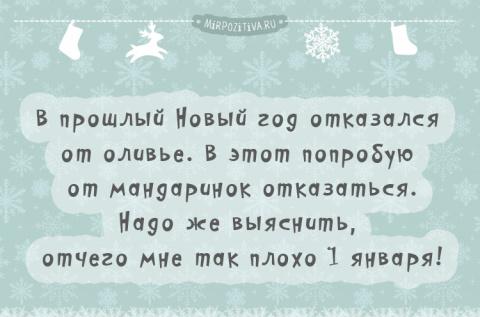 Новогодние позитивчики .