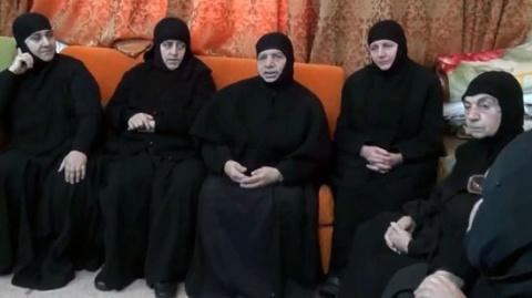 В Сирии освобождены монахини, захваченые в плен исламистами