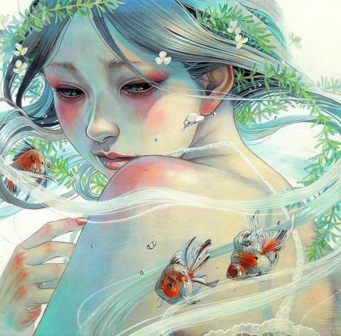По следам Miho Hirano: завораживающие картины