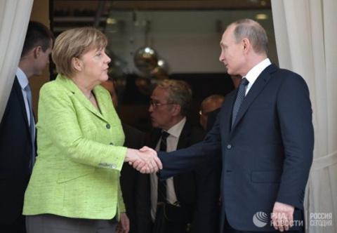 Корейский кризис обсудили лидеры России и Германии