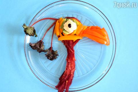 Салат из сладкого перца, цве…