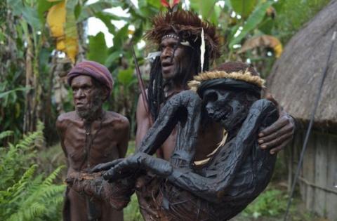 20 снимков индонезийского племени Дани, которое живет так, как жили их предки