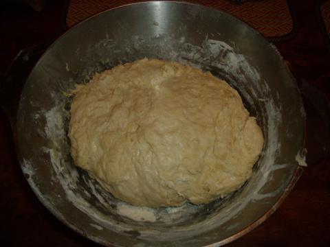 Именинный пирог с черникой.