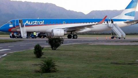 Самолет в Аргентине не мог п…