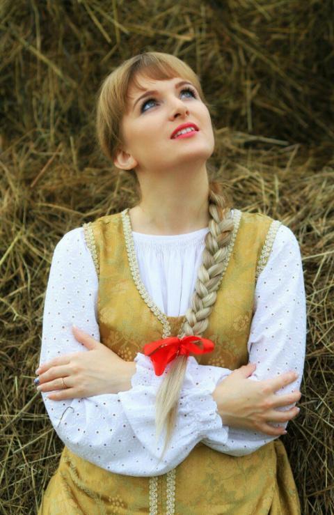 Славяночка: портреты красивых девушек