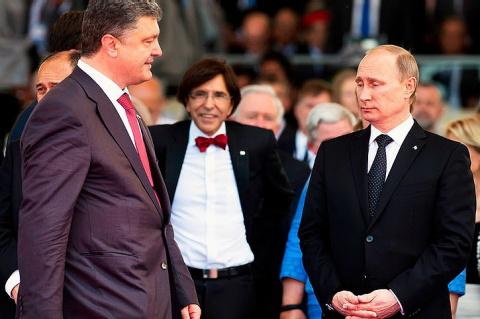 Порошенко рвался на встречу с Путиным в Париже