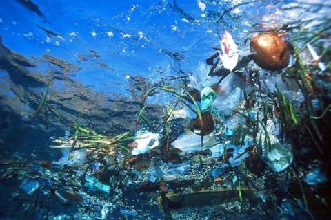 Гигантский мусорный остров Т…