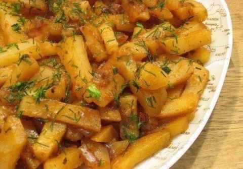 Обалденная картошка приготов…
