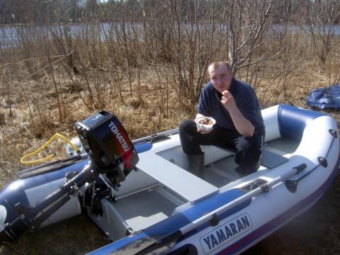 Рыбакам больше не придется вручную тащить снасти и лодки последние 200 метров до воды.