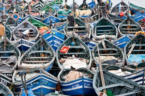 Марокко: Эссуэйра и рыбный р…