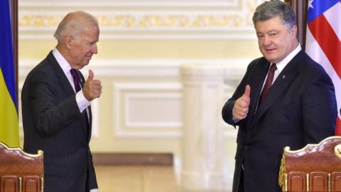 Байден и Порошенко: Гуд бай,…