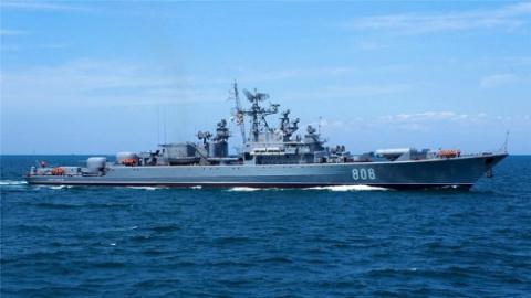 Российскую эскадру вСредизе…