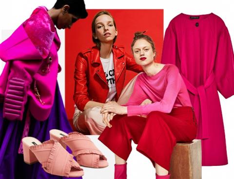 Все оттенки розового весной 2017