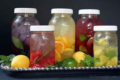 Как приготовить вкусную и полезную воду