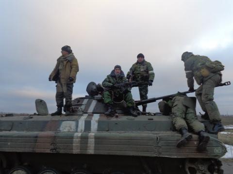 Бойцы ДНР отобрали у ВСУ БМП-2. Молодцы !