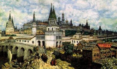 Почему Московская Русь выжил…