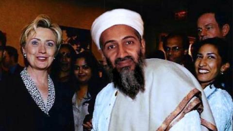 Хиллари Клинтон - любимая жена Бен Ладена