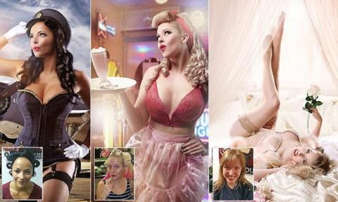 Фотограф превращает обычных женщин в супермоделей!